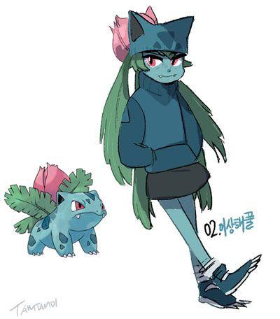 Ivysaur en versión humana