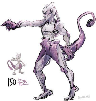 Mewtwo en versión humana