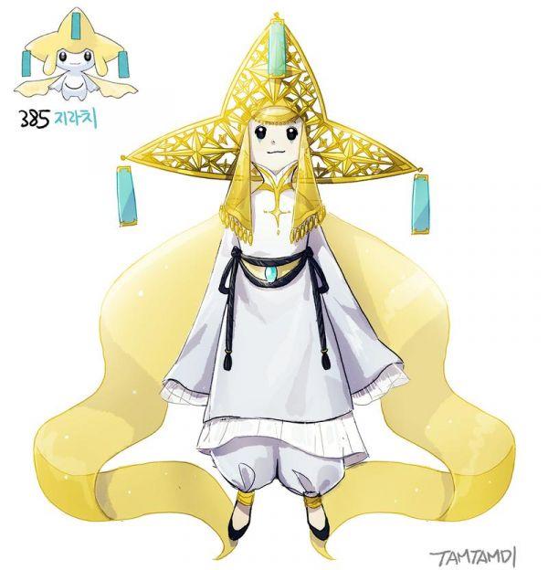 Jirachi en versión humana