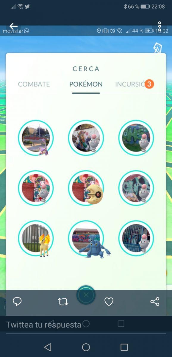 Avistamiento de los pokemon que aparecen con más frecuencia en Pokemon Go con motivo del nuevo evento lunar chino