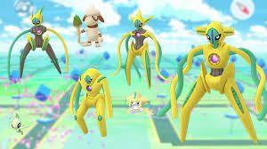 4 formas de Deoxys en su versión shiny