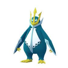 Empoleon en su versión variocolor en Pokemon Go