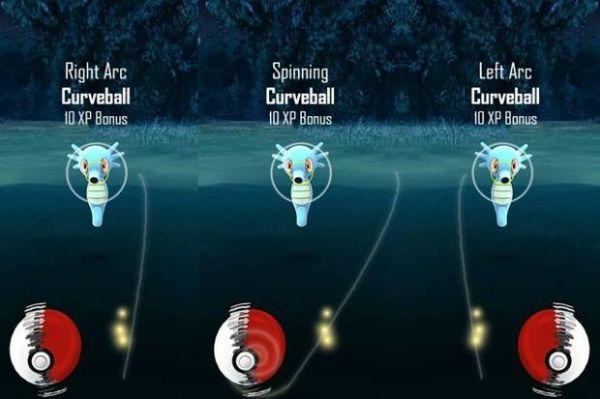 Cómo efectuar un correcto lanzamiento de bola curva en Pokémon Go para capturar a tu pokémon