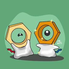Pokémon raro y misterioros Meltan shiny