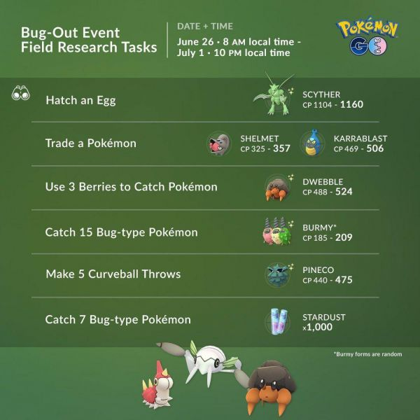 Misiones y Recompensas Evento A Bichear 2020 Pokémon Go