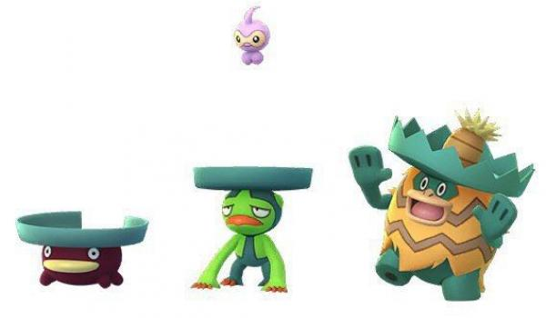 lotad-evoluciones-shiny-castform-shiny