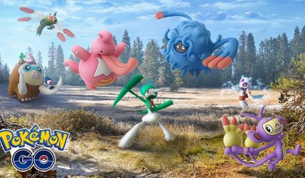 Nuevas especies de la región de Sinnoh aparecen en Pokemon Go.