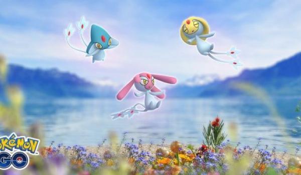 ⭐ ACTUALIZACIÓN:  El Trío del Lago en INCURSIONES LEGENDARIAS en Pokémon Go ⭐