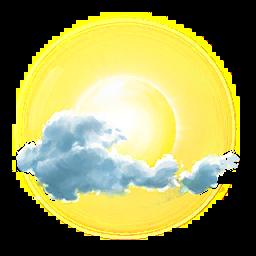 Tiempo atmosférico parcialmente nublado en Pokemon Go