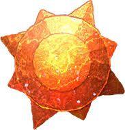 Objeto Evolutivo llamado Piedra Solar necesario para evolucionar ciertos pokemon designados en Pokemon Go