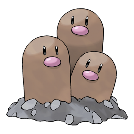 Dugtrio Pokemon Go