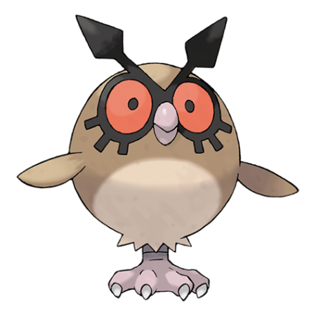 Hoothoot Pokemon Go