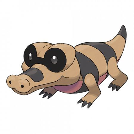 Sandile Pokemon Go