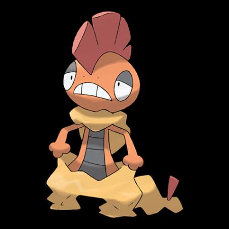 Scrafty Pokemon Go