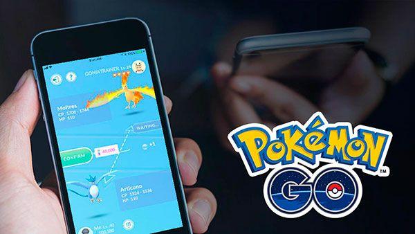 Proceso de intercambios entre amigos en Pokémon go