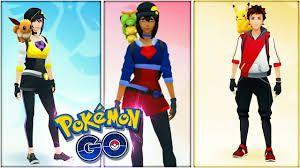 Diferents pokémon que van acompañando a tu avatar en el hombro con el truco correspondiente en Pokémon Go