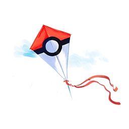 Tiempo atmosférico con viento en Pokemon Go