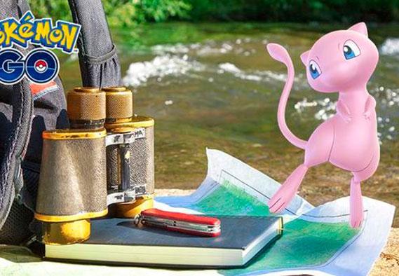 Evento de Mew - Investigaciones especiales Pokemon GO
